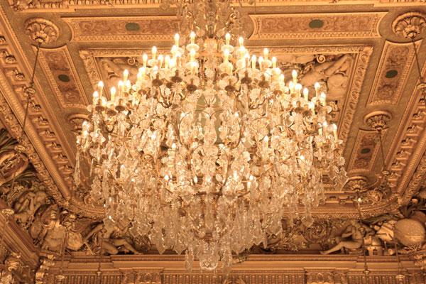 Lustre Hotel de ville Lyon